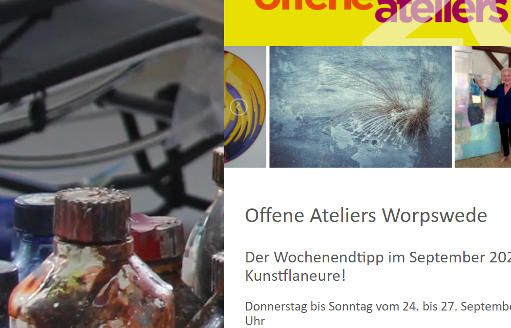 Offene Ateliers Worpswede 2020
